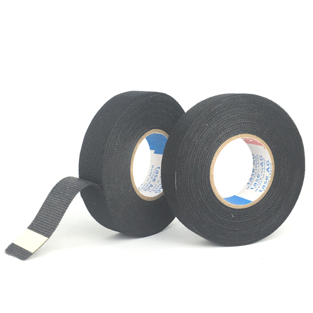 0 3mm 15m fabric cloth tape automotive wiring harness glue high rh aliexpress com