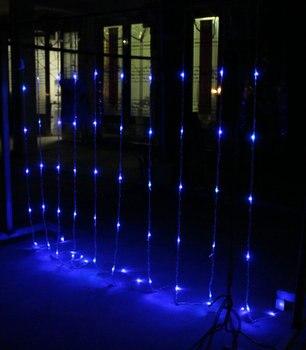 Wróżka 3 M X 3 M 320 Wodospad LED Boże Narodzenie światła Nowy Rok Wakacje Strona ślub Domu Luminaria Dekoracje Zasłony Garland U Nas Państwo Lampy