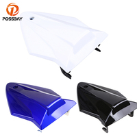 POSSBAY Motorcycle Rear Seat Cowl Fairing Cover White/Black/Blue Motorbike Seat Pad Accessories for BMW S1000RR 2015 2016 2017