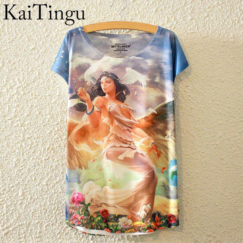 HTB1oK0LLpXXXXchXFXXq6xXFXXX4 - New Fashion Summer Animal Cat Print Shirt O-Neck Short Sleeve T Shirt