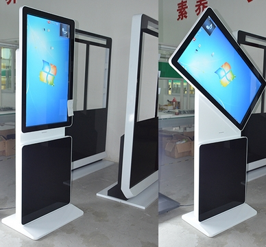High Quality Hotel 42''47''55''65 Inch Floor Standing Digital Signage Kiosk I3/i5/i7 All In One Pc CCTV Monitor Display