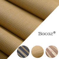 Natural Weave Straw Reed stripe Plant Wallpaper for Living Room environmental Study Room 3d Natural Wall paper Wallcoverings