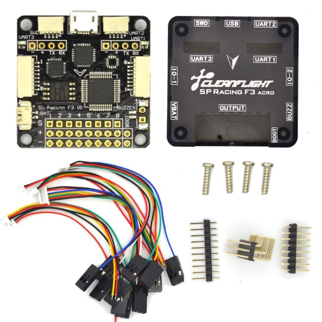 SP Pro Racing F3 Flight Controller Board Cleaflight 6DOF 10DOF Deluxe with Brano and Compass for FPV Dron 280 Mini Quadcopter