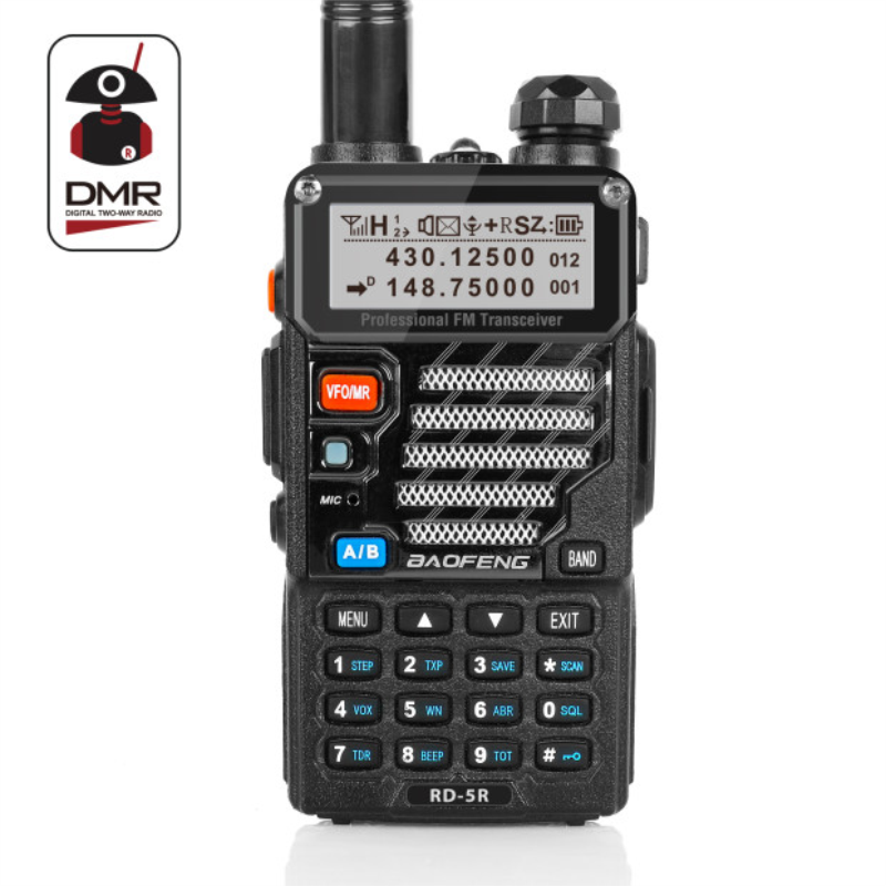 Baofeng RD-5R DMR Tier II VFO Digital Dual Band 136-174/400-470MHz Two way Radio Walkie Talkie Ham Transceiver