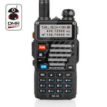 Baofeng RD-5R DMR Tier II VFO Digital Dual Band 136-174 / 400-470MHz Dua arah Radio Walkie Talkie Ham Transceiver