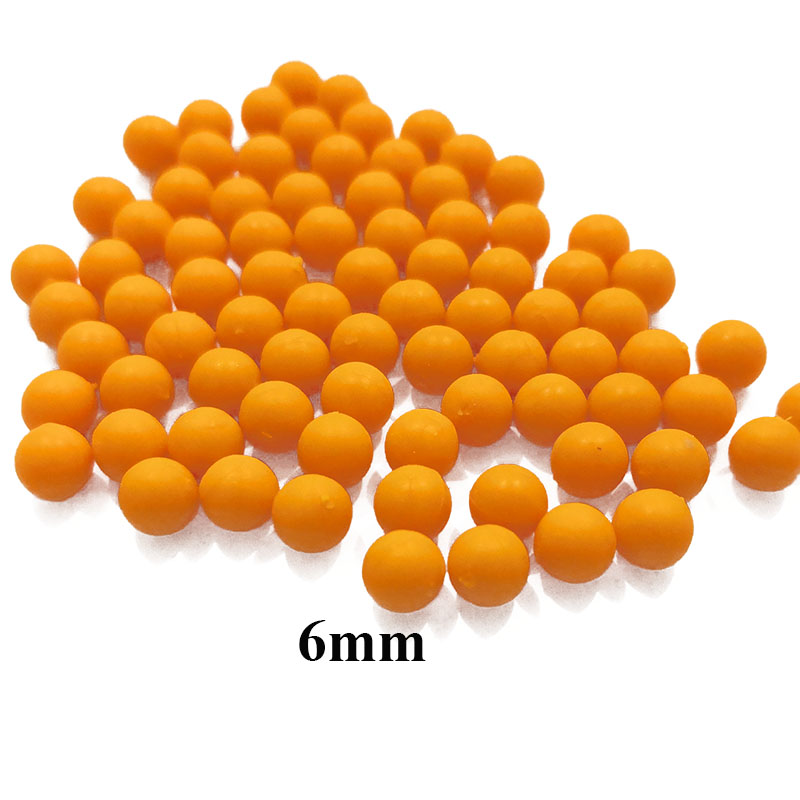 50Pcs 6MM Gun Bullet Toys For Shooter Game Gun Accessories 70-80Pcs Outdoor Toys For Children