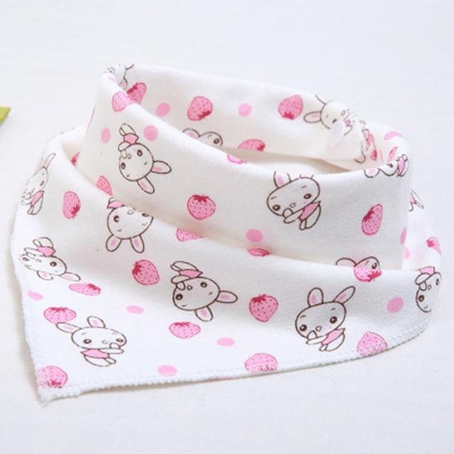 Lindo babero impermeable para bebé baberos Bandana con estampado de animales de dibujos animados de algodón para recién nacidos niñas niños pequeños bufanda triangular baberos bebe