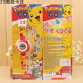 Fashion  LED digital 20 projector cartoon watch Pikachu  children wristwatches clock girl gift baby toys