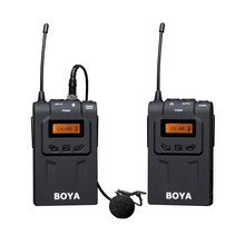 BOYA BY-WM6 UHF Professional Omni-Directional Lavalier Wireless Microphone Recorder System for ENG EFP DV DSLR Camera Camcorders