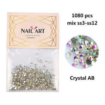Διακόσμηση νυχιών Super Glitter Crystal AB Μανικιούρ - Πεντικιούρ Προϊόντα Περιποίησης MSOW
