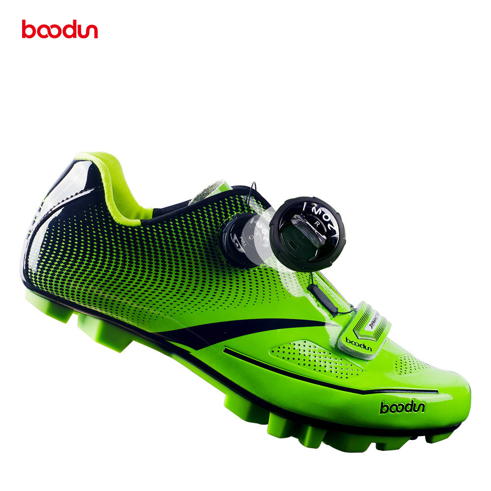 BOODUN Men s Cycling Shoes Road Bike Shoes Mountain Bike Bicycle MTB Shoes Reflective Cycle Sneaker