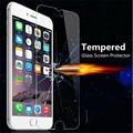 Cristal protector sobre el iphone 6 6 s 9 h 2.5d ultra delgada a prueba de explosiones templado protector de pantalla de cristal para iphone 6 6 s guardia
