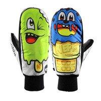 Free Shipping Unisex Men Women Winter Gloves Ski Gloves Waterproof Snowboard Cute Cartoon Gloves