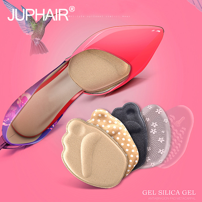 12Pairs Women Forefoot Thick Anti-slip Foot Pad High-heeled Shoe Female Half Pad Half-foot Half Yards Insoles Pain-proof Comfort 4 pairs half code cushion pad high heels foot protecting pad thickening anti slips shoes half insoles
