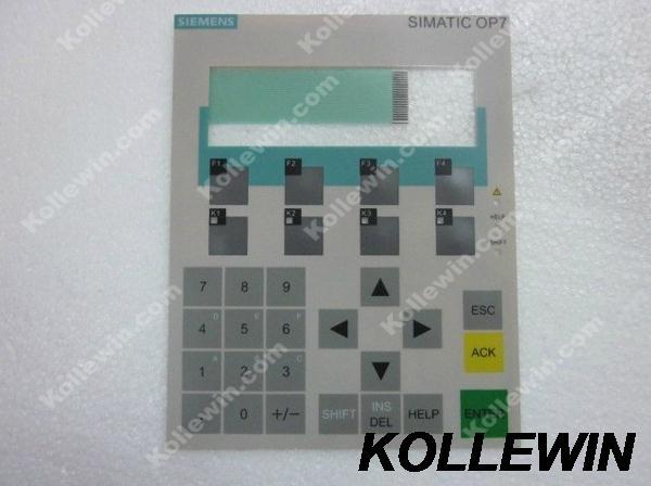 New Membrane keypad for Simatic OP7 6AV3607-1JC00-0AX1  6AV3 607-1JC00-0AX1 6AV36071JC000AX1 freeship 1 year warranty 6av3607 1jc00 0ax1 for replace simatic hmi op7 keypad 6av3 607 1jc00 0ax1 membrane switch simatic hmi keypad in stock