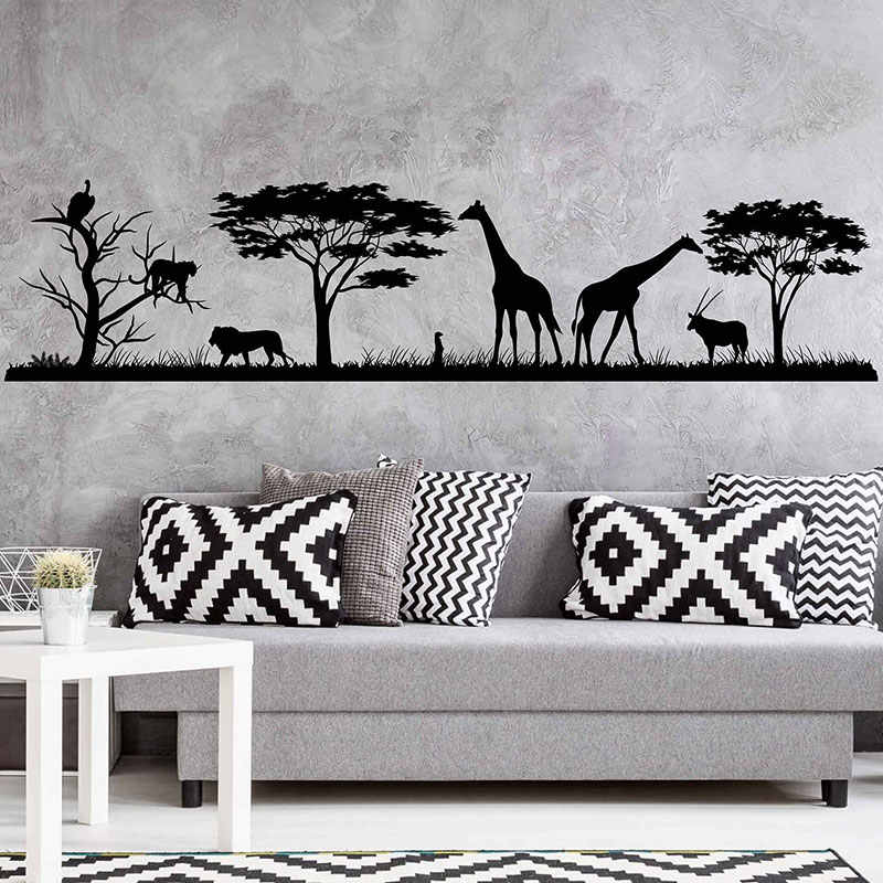 Wall Decal Jungle Vinyl Stickers Decals