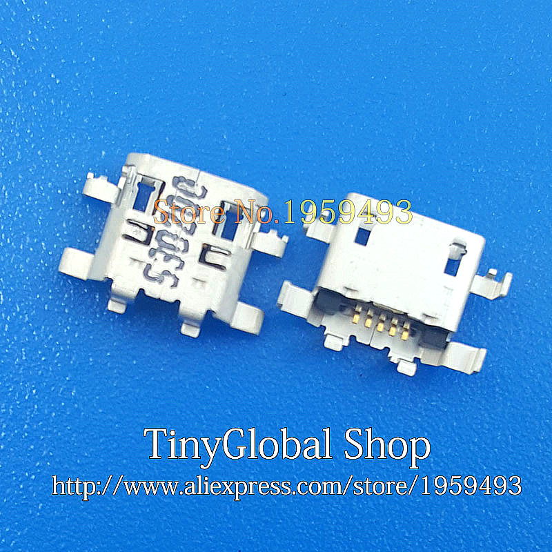 Computer Cables 5-200PCS New for HP Slate 10 HD Replacement Micro USB DC Charging Socket Port Connector Cable Length: 10 pcs