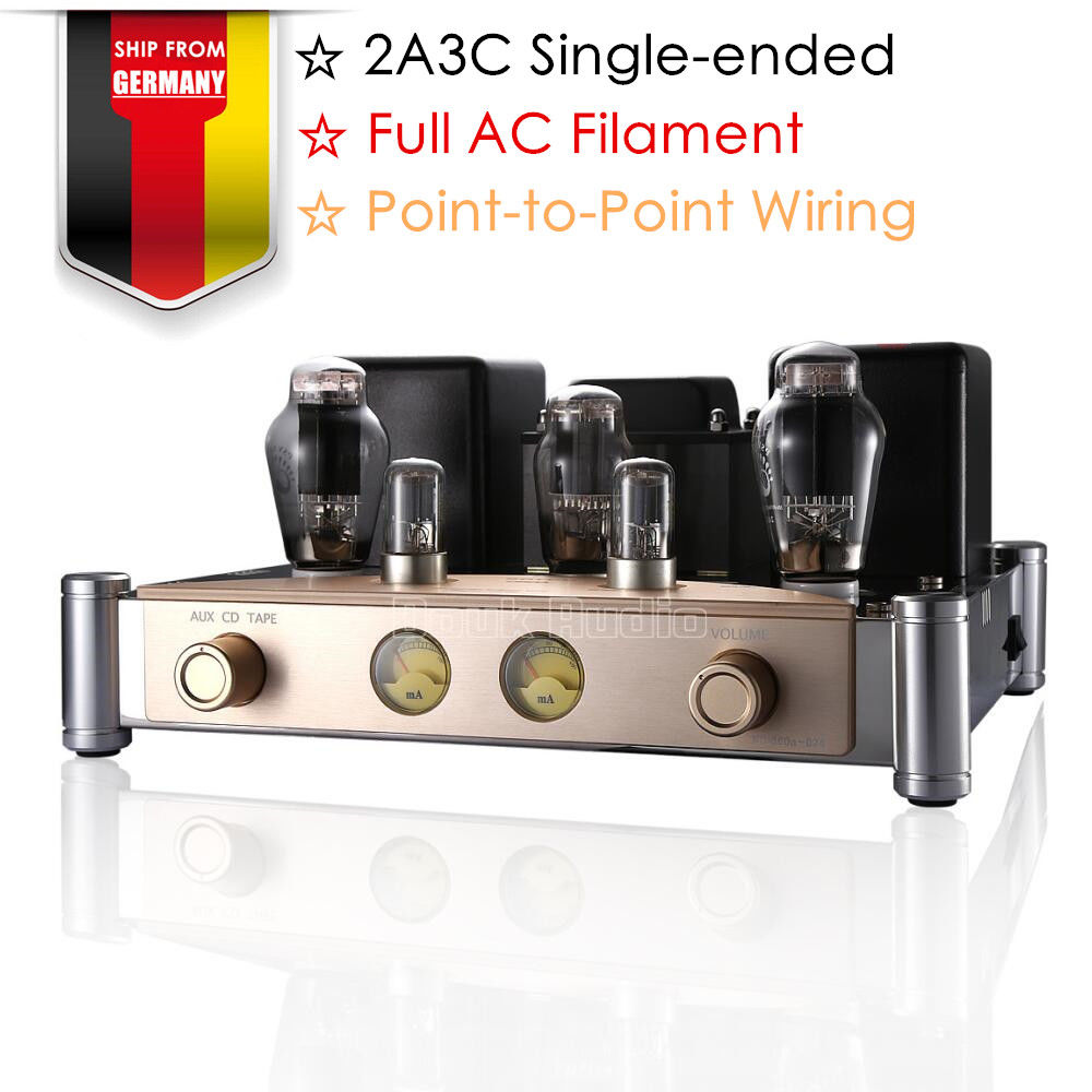 Nobsound Hi-end PSVANE 2A3C Vacuum Tube Amplifiers Single-Ended HiFi Stereo Tube Integrated Power Amp 2018 latest nobsound hi end transistor pre amplifiers stereo hi fi preamp reference level