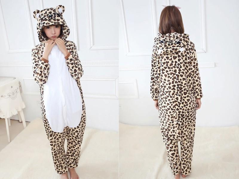 leopard bear pyjama