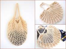 Mesh Net Turtle Bag String Shopping Reusable Fruit Storage Handbag Totes Women Shopper