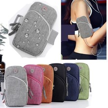 65 Universal Mobile Phone Bags Holder Outdoor Sport Arm Pouch Bag For Phone On Hand Sports Running Armband Bag Waterproof Case
