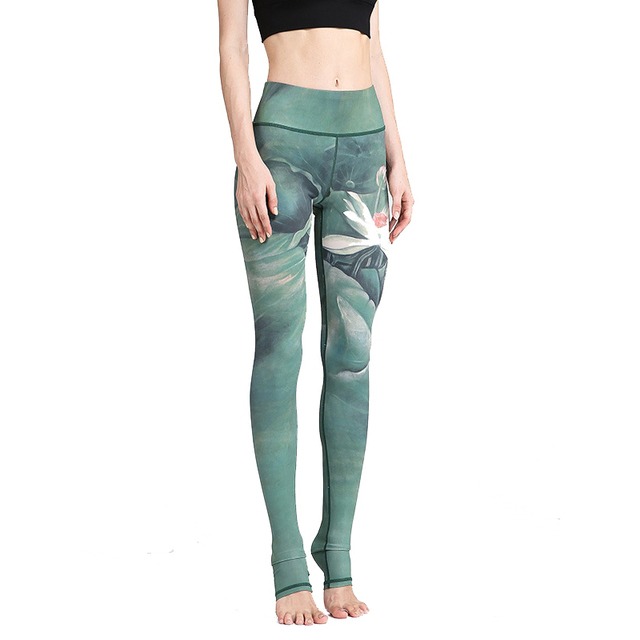 Floral  Fitness Yoga Pants For Women