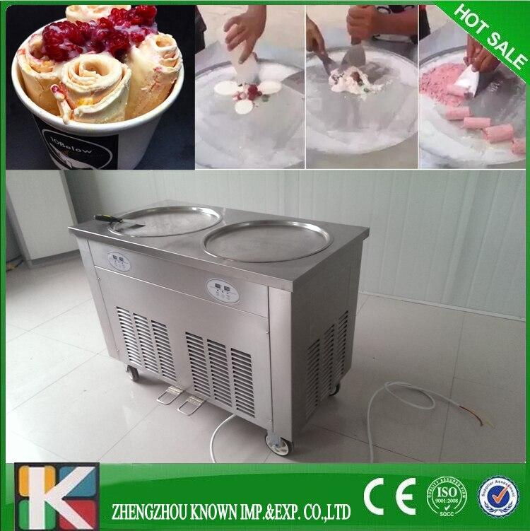 direct factory supply fry ice cream roll machine