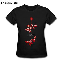 Depeche Mode Violator T Shirts For Women Harajuku Funny Product Tops Lady Casual Short Sleeve