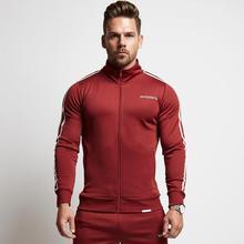VQ 2018 Новая осень Фитнес толстовки брендовая одежда Для мужчин с капюшоном пуловер Повседневное Толстовка мышцы Для мужчин Slim Fit Куртка с капюшоном