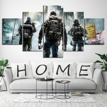 5 Piece Home Painting Decorative HD Print Wall Art Canvas For Living Artwork Tom Clancys Rainbow Six Game
