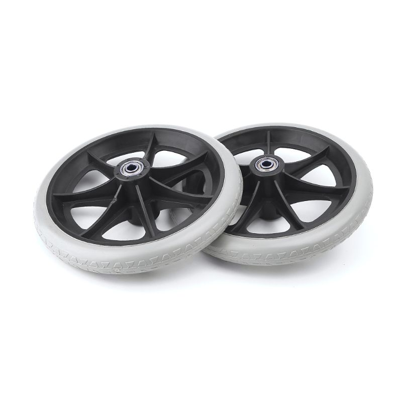 2pcs 8 Wheelchair Casters Small Cart Rollers Chair Wheels Accessories