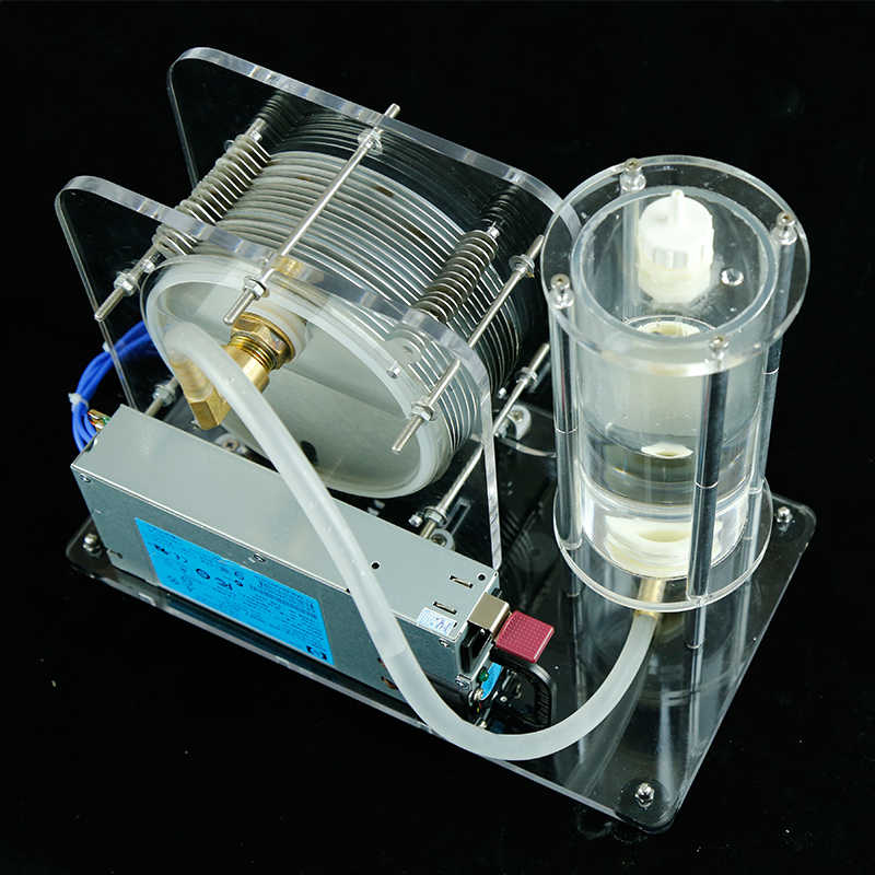 electrolysis of  water generator Electrolyzer 200-300W  220V-12V