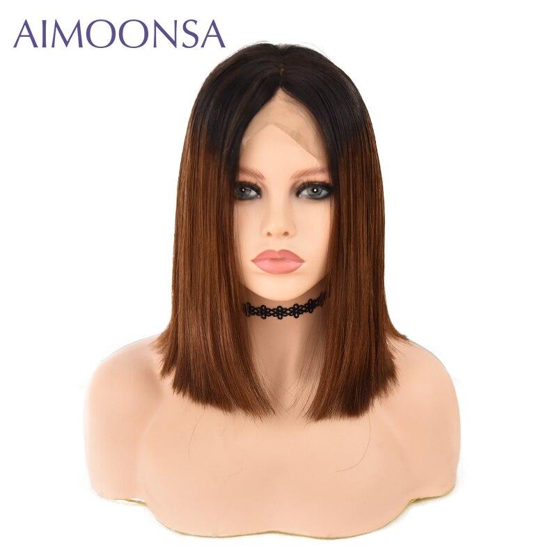Brazilian Hair 13 4 Lace Front Short Human Hair Wigs For Women 1B 30 Brazilian Remy