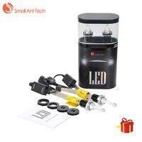 SMALLANTTECH H1 H4 Car LED Headlight H7 2pcs D4C H11 6000K Car Lamp 60W 7200LM H3