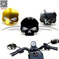 3 cores da motocicleta Olhos Crânio Cap Gás Combustível Tampa Do Tanque de Combustível para Harley Sportster Dyna Softail FXD FL XL FLT
