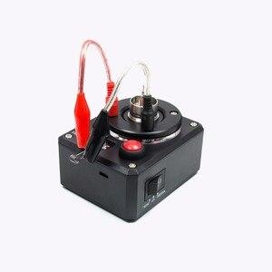 Image 4 - Volcanee Многофункциональный Омметр, катушка, сжигание тепла, напряжение для электронной сигареты, RDA бак, электронные сигареты, DIY инструменты, тестер сопротивления вейпа
