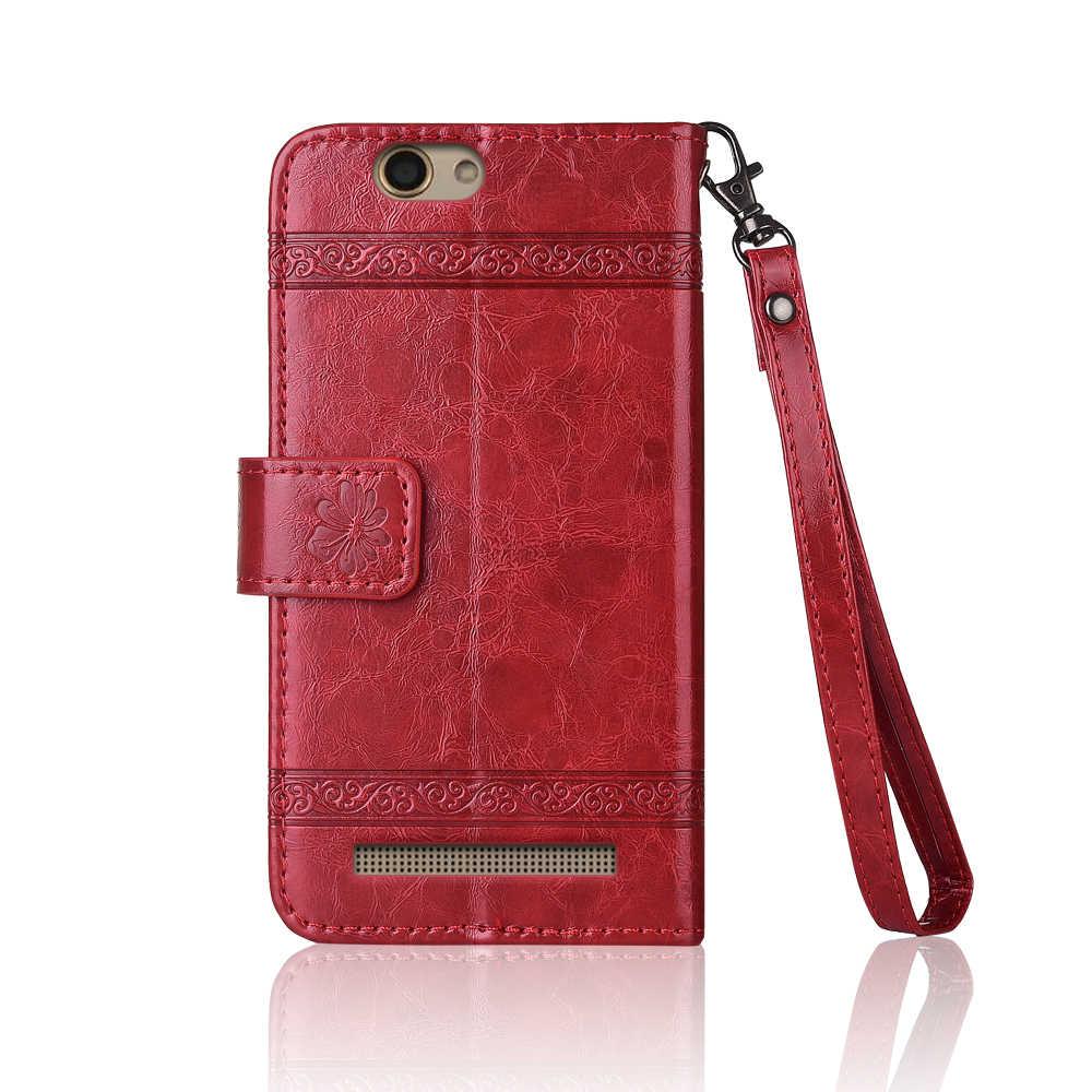 Флип-кожаный чехол для Jinga Basco M500 3g 4G Fundas с цветочным принтом 100% специальный чехол-бумажник с подставкой и ремешком