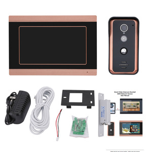 Image 4 - 7 inch Wired Wifi Video Door Phone Doorbell Intercom Entry System with Electric Strike Lock