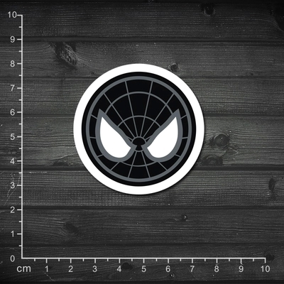 Aug334 x men dark black spider man spiderman logo laptop skins waterproof pvc luggage