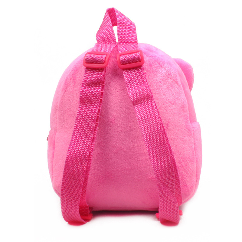 1-25-years-Lovely-children-plush-backpack-cartoon-Monkey-Elephant-Animal-schoolbag-wholesale-2
