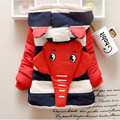 Toddler Boy Winter Coats Cotton Long Sleeve Hooded Kids Clothes Boys Character Elephant Winter Coat Boy for 1-3T