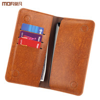 Universal Wallet Phone Case Bag Pouch Pocket Hang PU Leather Card Shot For OnePlus 5 3