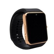 Smart Watch GT08 Uhr Mit Sim Einbauschlitz Push-nachricht Bluetooth-konnektivität Für Android Phone Smartwatch