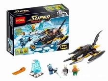 Decool 7102 Super Hero Batman/Aquaman/Mr. Freeze Figure Bricks Building Block Minifigue Toys Kid Gift Compatible Legoe