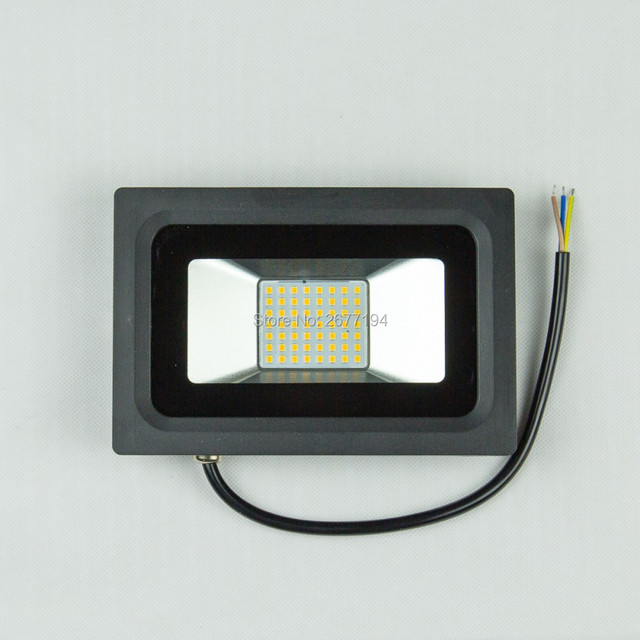 Sales promotio Led Flood light Power 50W Cold/Warm White IP65 Black AC220V Spotlight Garden Outdoor Square