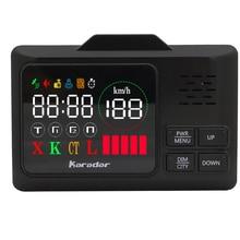 KARADAR GPS комбинированный радар-детектор G-860STR антирадар автомобильный радар-детектор Лазерный Радар-детектор Голосовая стрелка автомобильный детектор