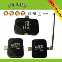 DVB-T2 Pad USB TV Tuner dvb-t2 DVB T2 DVB-T Dongle Ricevitore TV HD Digital TV Guardare la TV In Diretta Bastone Per android Pad Tablet PC Del Telefono