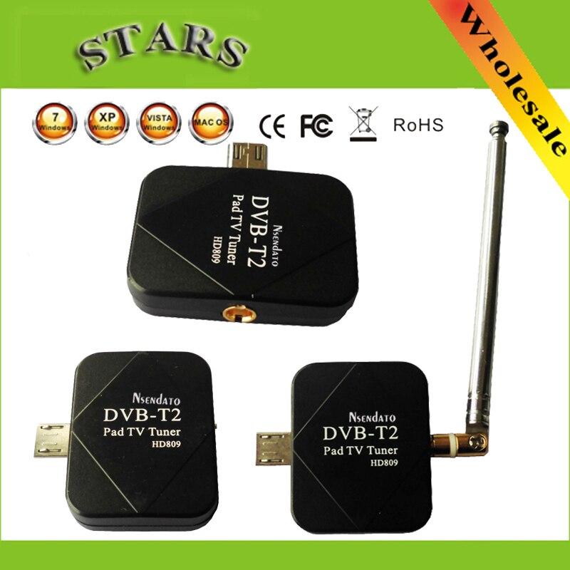 DVB-T2 almofada usb tv sintonizador dvb-t2 dvb t2 dvb-t dongle tv receptor hd digital tv assistir tv ao vivo vara para android pad telefone tablet pc