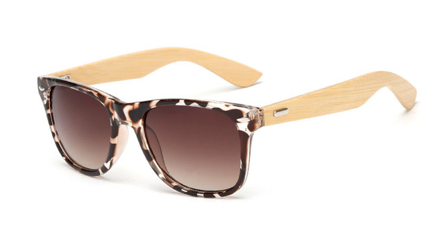 17 color Wood Sunglasses Men wom