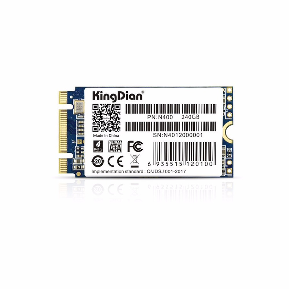 KingDian NGFF SSD 240GB 256GB  M.2 SATA HD Solid State Disk Harddisk Drive NGFF 2242 22x42mm for Thinkpad For IMB For SONY-in Internal Solid State Drives from Computer & Office    1